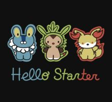 Hello Starters One Piece - Long Sleeve