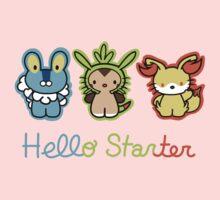 Hello Starters One Piece - Short Sleeve