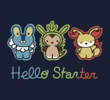 Hello Starters One Piece - Long Sleeve