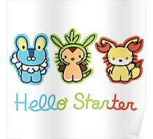 Hello Starters Poster