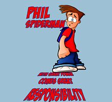 Phil Spiderman Unisex T-Shirt