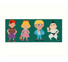 Earthbound  Art Print