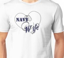 Navy Wife Unisex T-Shirt
