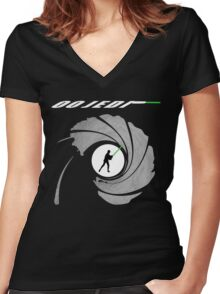 00 Jedi Women's Fitted V-Neck T-Shirt
