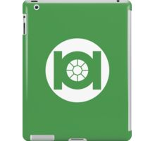 Green TIE iPad Case/Skin