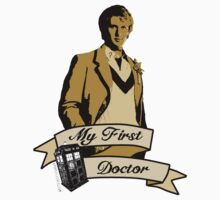 My first Doctor (Who) fifth 5th Peter Davison Kids Clothes