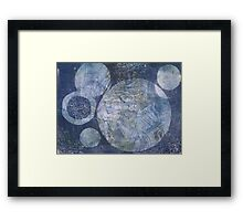 Blue Cosmos by Heather Holland Framed Print