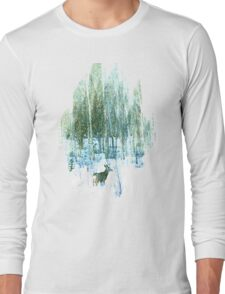 Deer in the Forest Long Sleeve T-Shirt