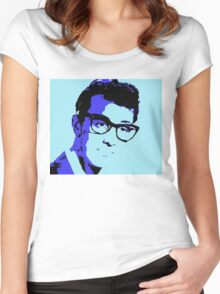 buddy holly Women's Fitted Scoop T-Shirt