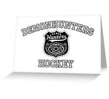 Demonhunters Hockey Greeting Card