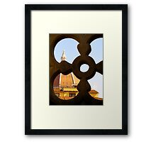 Looking through the Duomo Framed Print