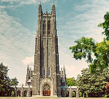 Duke University Chapel by Kadwell