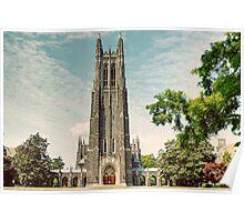 Duke University Chapel Poster