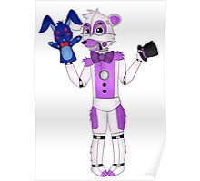 FNAF Sister Location Funtime Freddy Poster
