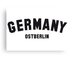 GERMANY OSTBERLIN Canvas Print