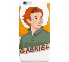 Gabriel iPhone Case/Skin