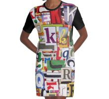 Vocaless Graphic T-Shirt Dress