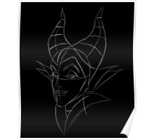 Maleficent Sketch Poster