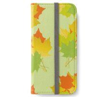 Autumn bouquets iPhone Wallet/Case/Skin