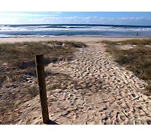 Beach at Lennox Head Photographic Print