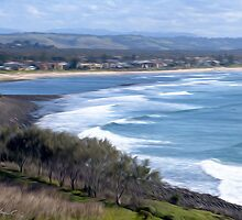 View from Lennox Head by John Catsoulis