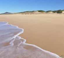 Beach at Urunga by John Catsoulis