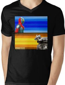 Ready Player One... FIGHT! Mens V-Neck T-Shirt
