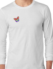 Mali's Psychedelic Butterfly Long Sleeve T-Shirt