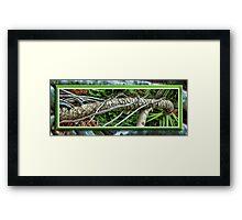 Palm Survival Framed Print