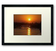 Urunga Sunrise 2 Framed Print