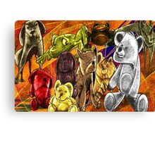 cartoon Canvas Print