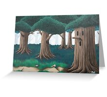 Whispy Woods Greeting Card