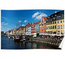 Kopenhagen Nyhavn Poster
