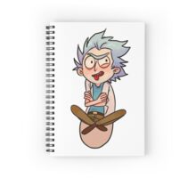 Tiny Rick Spiral Notebook