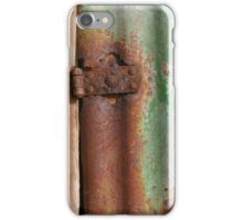 Boat Shed - Green Rust iPhone Case/Skin