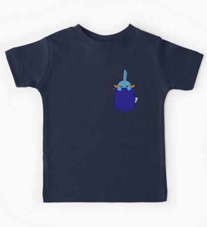 Mudkip in my Pocket Kids Tee