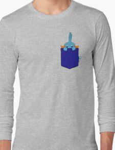 Mudkip in my Pocket Long Sleeve T-Shirt