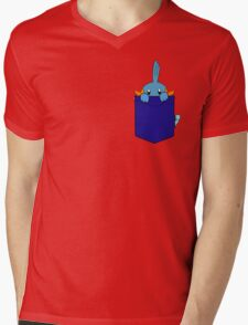 Mudkip in my Pocket Mens V-Neck T-Shirt