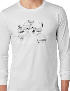 Tony Abbott's Budget 2014 Long Sleeve T-Shirt