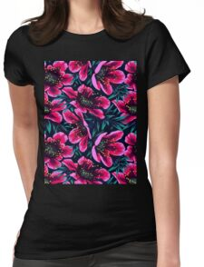 Flowers ★ Womens Fitted T-Shirt