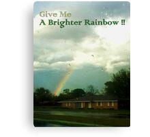 Brighter Rainbow Canvas Print