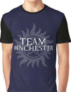 Supernatural - Team Winchester Graphic T-Shirt