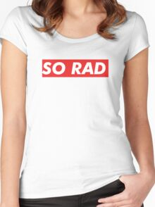 SO RAD Women's Fitted Scoop T-Shirt