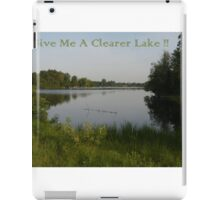 Clearer Lake iPad Case/Skin