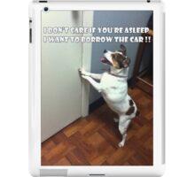 Dog Meme iPad Case/Skin