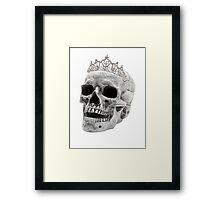 Skull Princess Framed Print