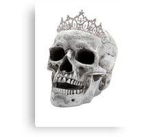 Skull Princess Canvas Print