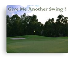 Aother Swing Canvas Print