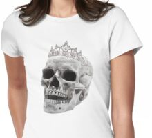 Skull Princess Womens Fitted T-Shirt