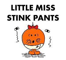 Miss Stink Pants Photographic Print